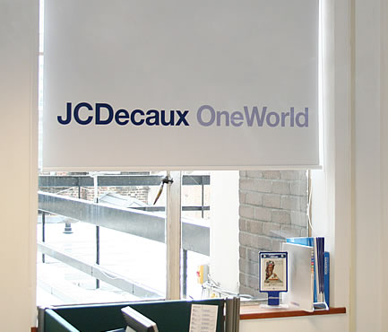 JC Decaux Blinds