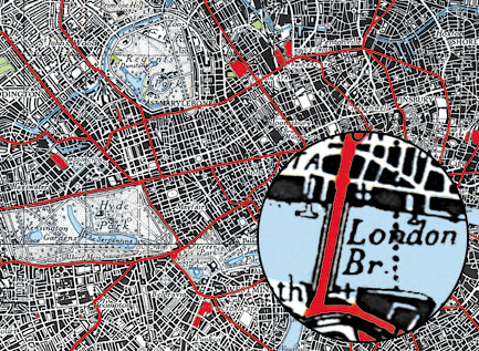 Printed Space: Acrylic London Map